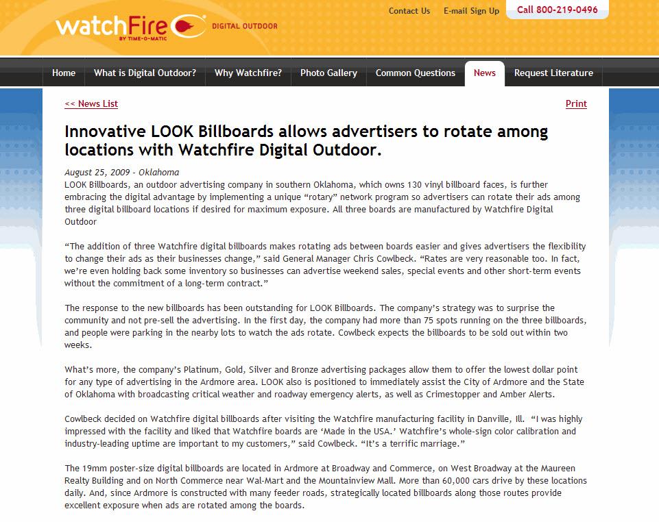 Watchfire-LOOK-Billboards-Rotary