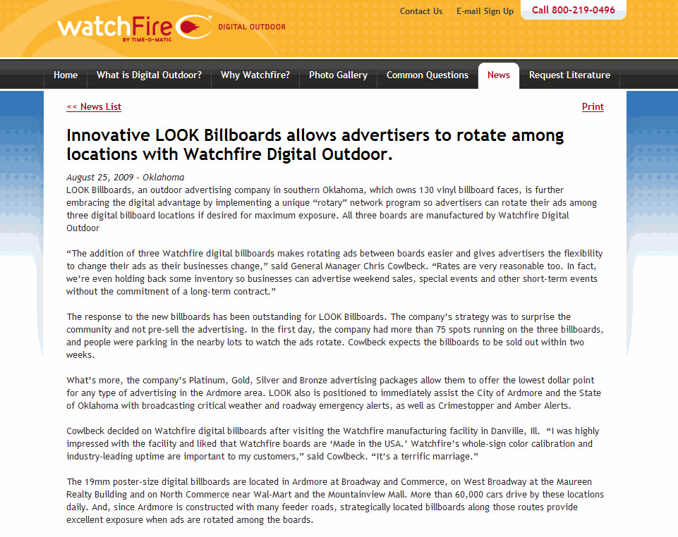 Watchfire-LOOK-Billboards-Rotary
